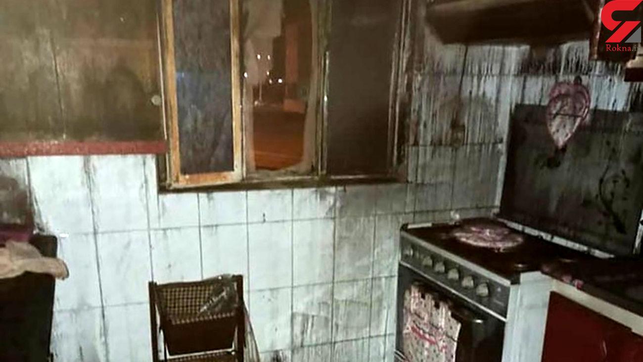 زنده سوختن یک مرد در شعله های آتش بامدادی / در بندرعباس رخ داد
