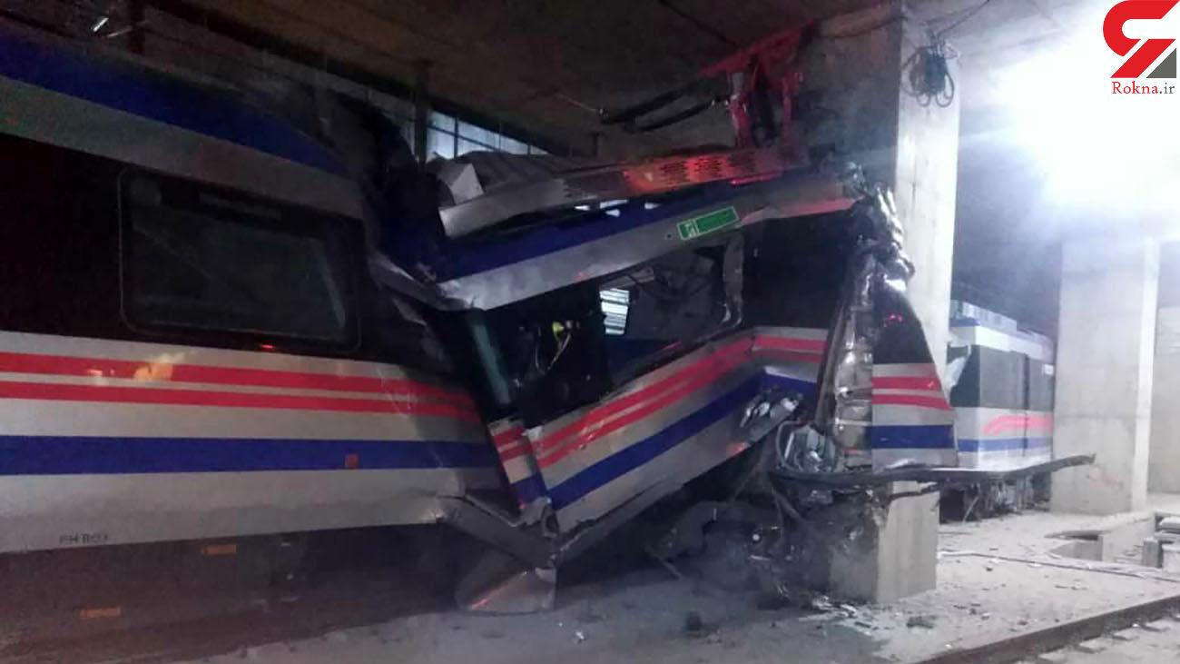 حادثه وحشتناک در مترو تبریز + عکس