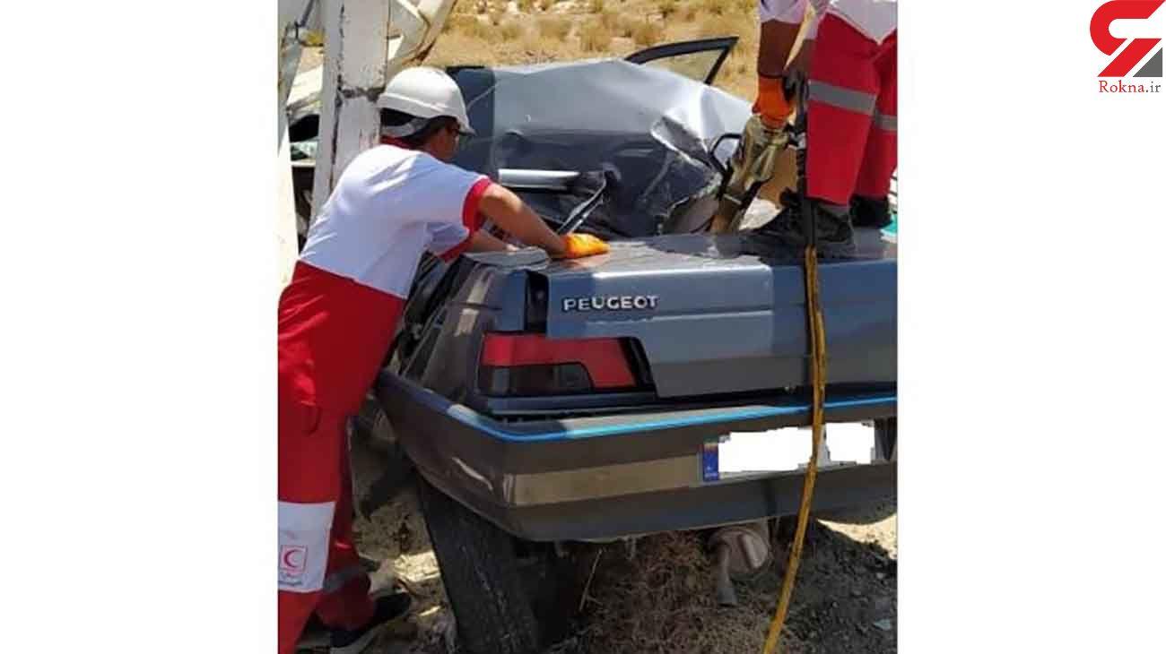 تصادف مرگبار در محور شیراز به یزد