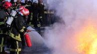 شعله های آتش سفرخانه سنتی زاهدان را سوزاند