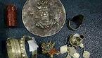 کشف اشیای تاریخی دوره ساسانیان