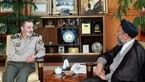 دیدار وزیر اطلاعات با فرمانده کل ارتش و رئیس سازمان عقیدتی سیاسی آجا