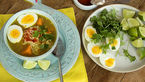 سوپ مرغ اندونزی، یک سوپ مقوی برای افطار