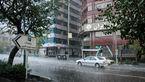 رگبار، رعد و برق و وزش باد شدید موقت در ۸ استان کشور