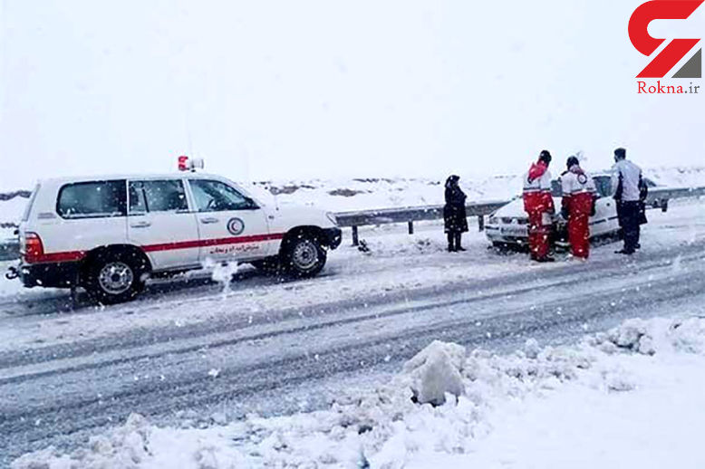 نجات بیش از 5 هزار نفر از برف و کولاک