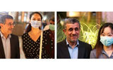 فیلم لمس احمدی نژاد توسط زنان نامحرم در امارات ! / همه نیمه برهنه بودند !