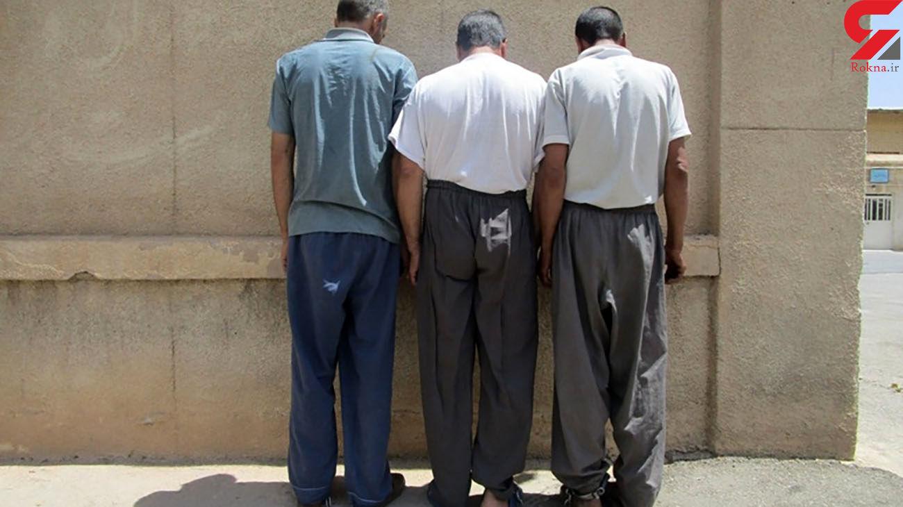متلاشی شدن اعضای باند سرقت در آباده
