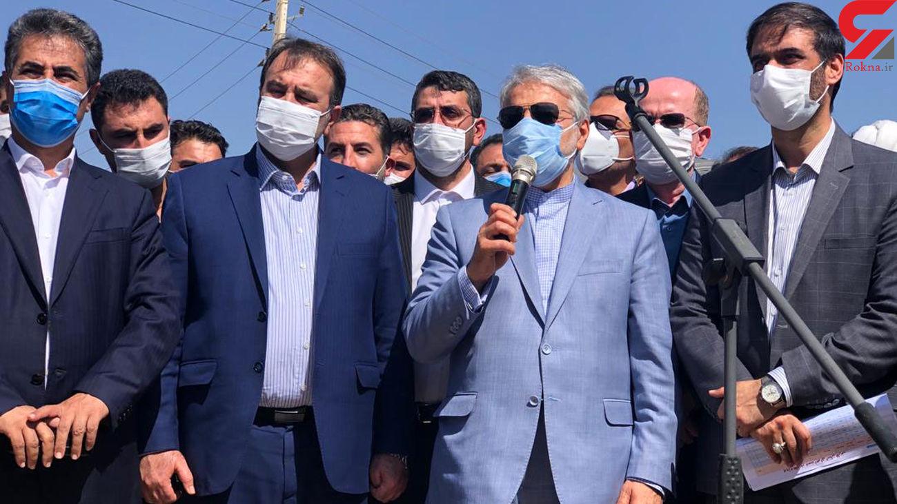 احداث خط سه مترو شیراز با حضور معاون رییس جمهوری