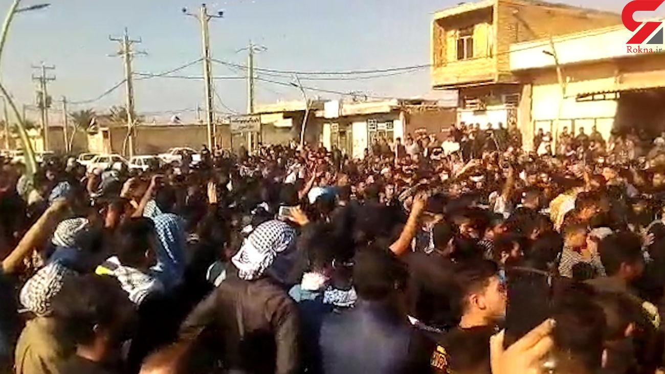 وحشتناک ترین مراسم خاکسپاری در خرمشهر + فیلم و عکس