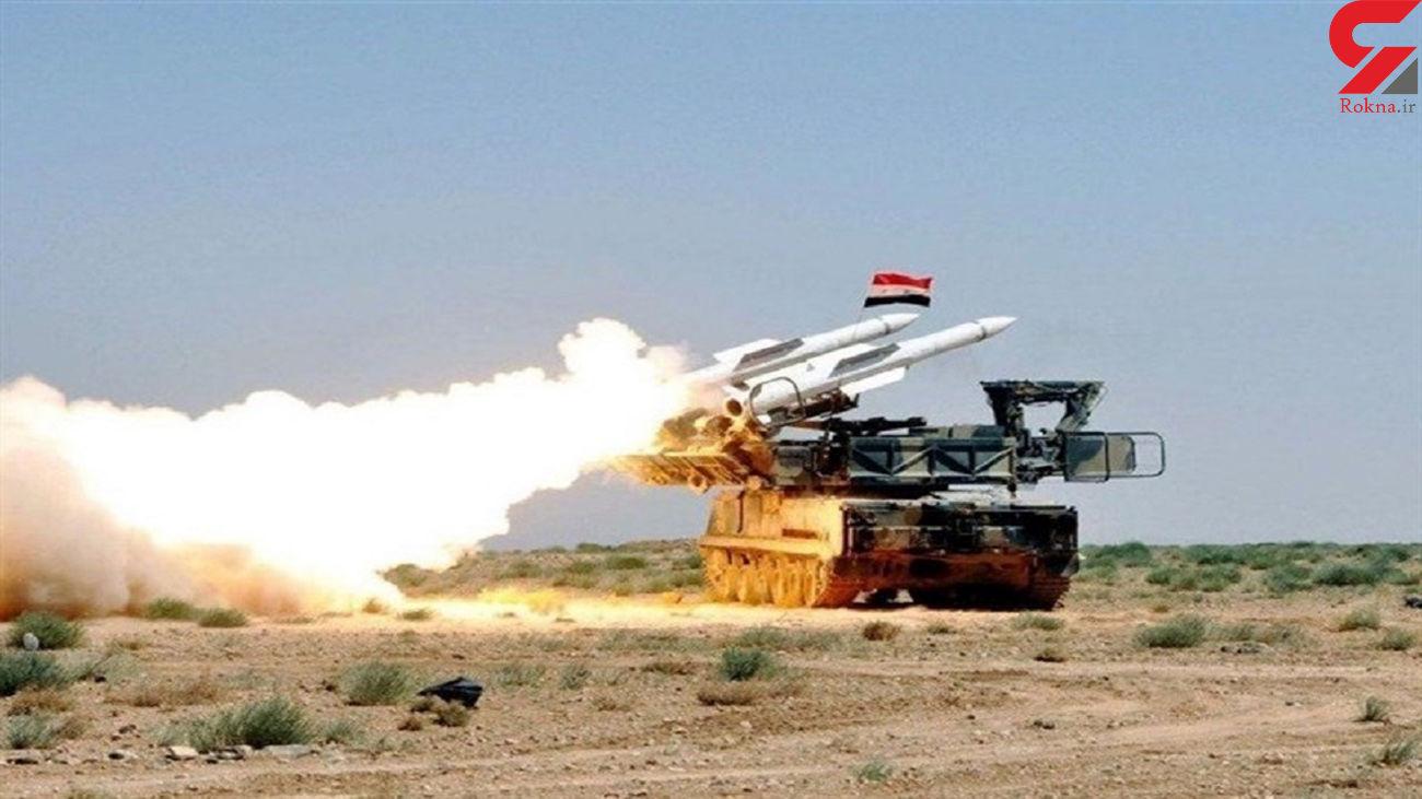 موشک های سوریه آسمان اسراییل را برای خلبانان رژیم صهیونیستی نا امن کرد