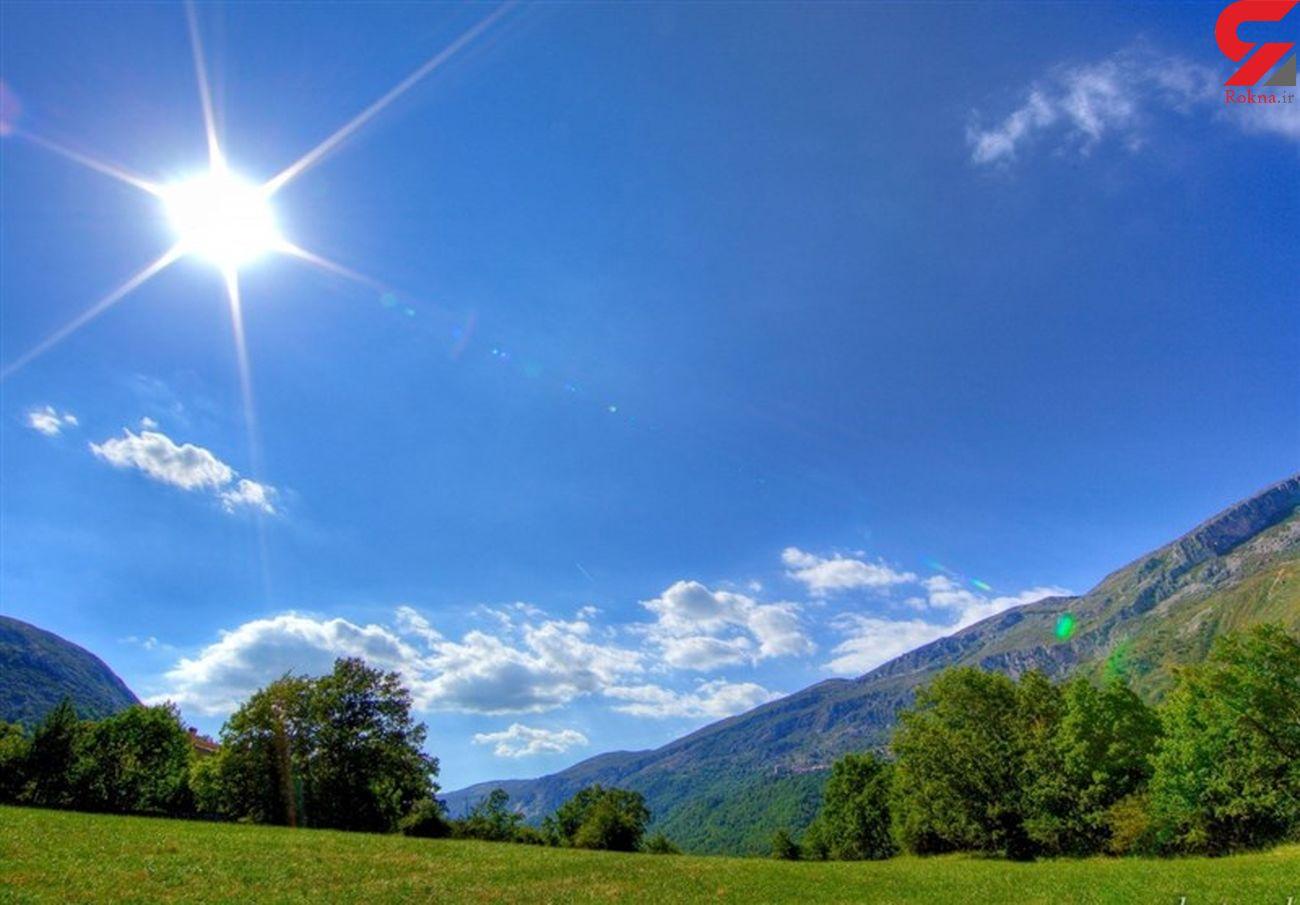 جوی آرام و پایدار در آسمان لرستان| هوا خنک میشود