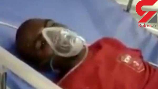این مرد بعد از حمله و گاز گرفتن یک سگ هار واق واق می کند! +عکس