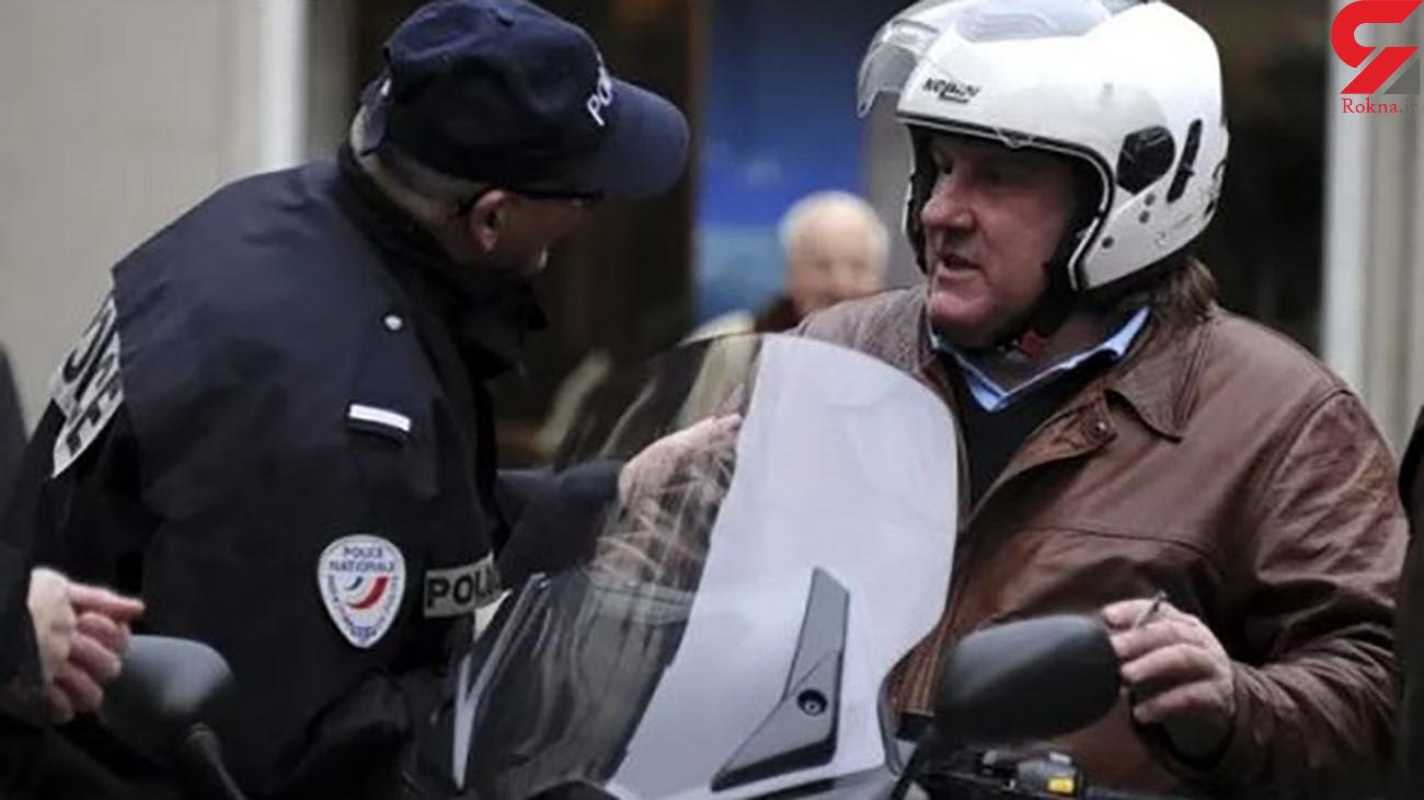 بازداشت بازیگر مشهور سینما به دلیل مستی در حین رانندگی + عکس