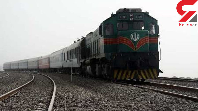 اولین قطار وارد کرمانشاه شد
