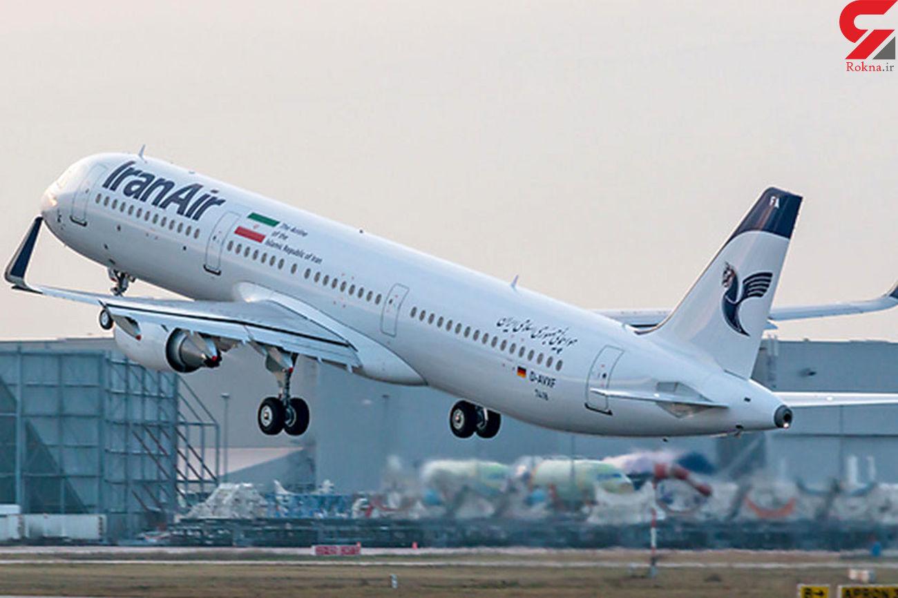 کرونا / ضدعفونی هواپیماهای ایران ایر هر ۲۴ ساعت