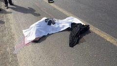 برخورد پراید با عابر پیاده در خراسان شمالی یک کشته برجای گذاشت