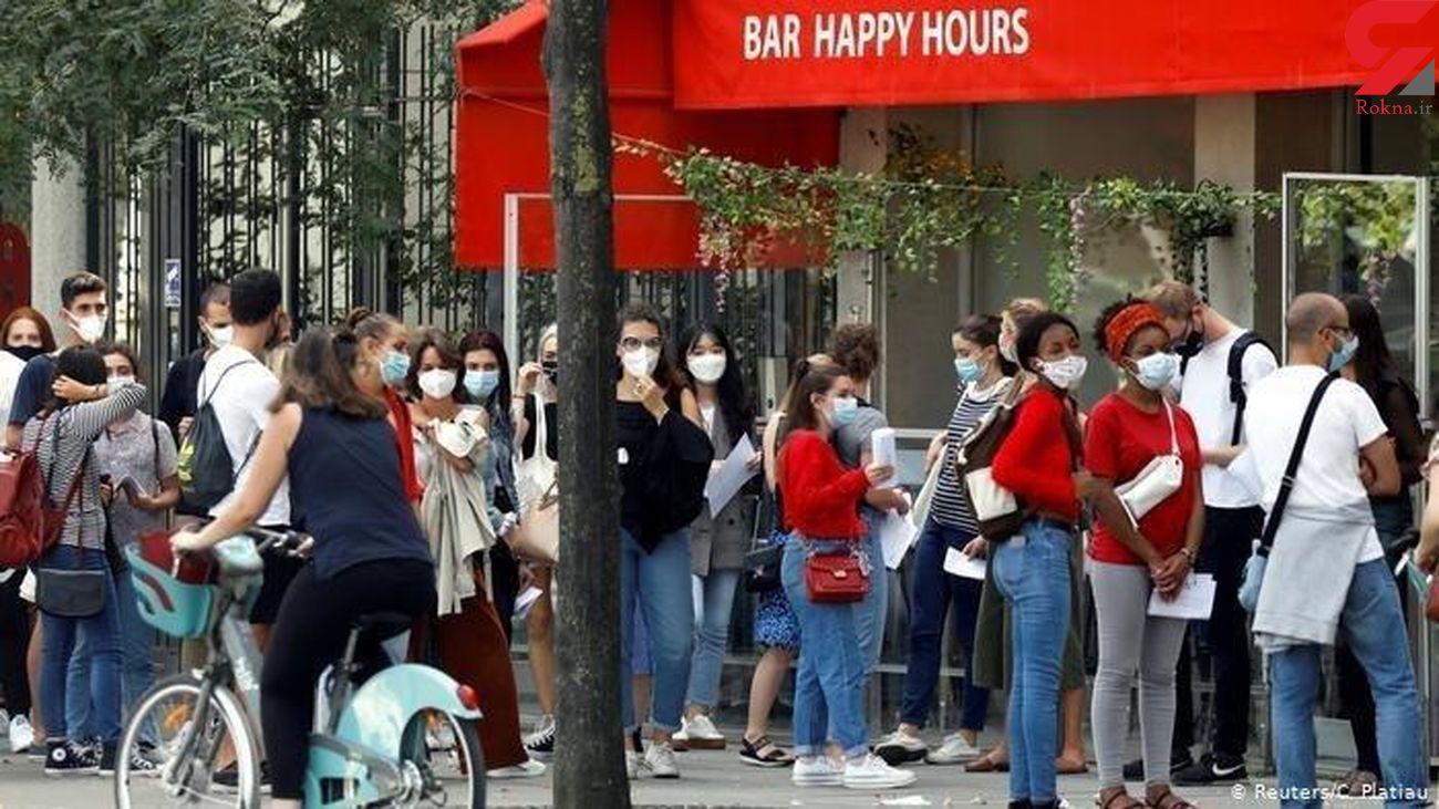 مخالفت دولت فرانسه با تعطیلی سراسری در مقابله با کرونا