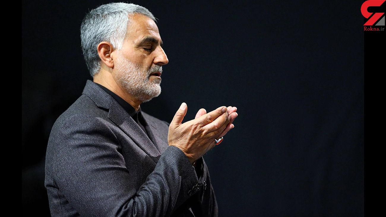 روضهخوانی محمود کریمی در منزل سردار شهید قاسم سلیمانی + فیلم