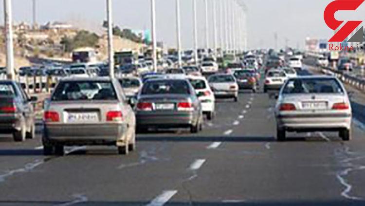 وضعیت جوی و ترافیکی ساعت ١٢ پنجشنبه ٩ شهریور