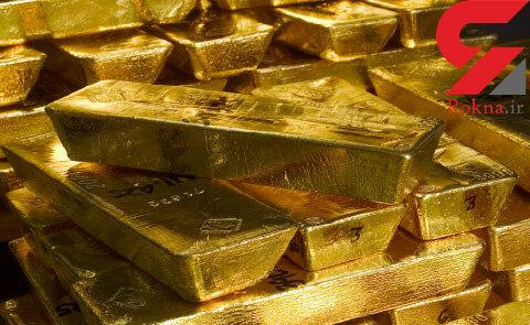 ادامه روند کاهش قیمت طلای جهانی