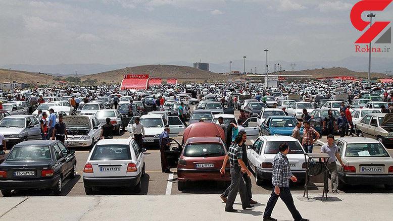 قیمتها در بازار خودرو نزولی شد