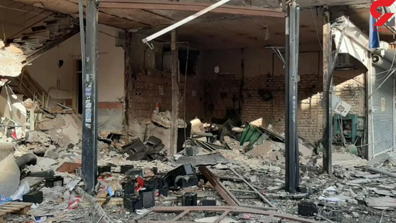 فیلم انفجار وحشتناک خونین در  نسیم شهر / یک تن کشته و 20 تن زخمی +عکس