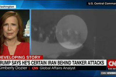 تحلیلگر سی انان: هیچ علامتی از ایران در تصاویر ویدئوی آمریکا از نفتکشها مشاهده نمیشود