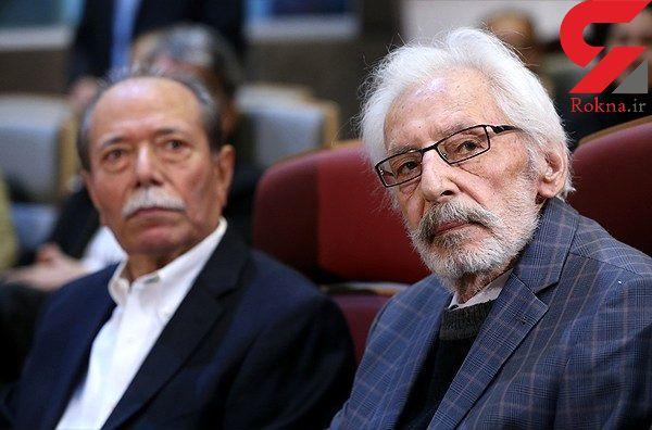 بازیگر معروف ایرانی در بیمارستان بستری شد +عکس