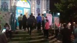 آخرین وضعیت حسینیه ارشاد در ساعت پایانی اخذ رای + فیلم