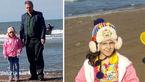 مرگ دلخراش پرنیان 6 ساله در ساحل شنی بابلسر+عکس