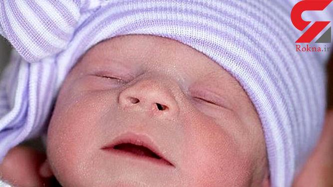 تولد نوزاد بی پدر و مادر در امریکا+عکس