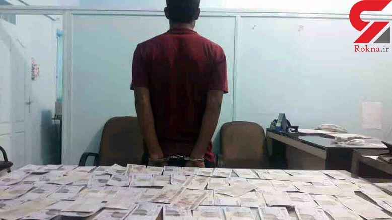 پرونده سیاه دلال دلار بازار آبادان لو رفت + عکس