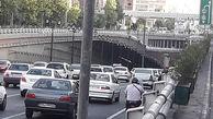 ترافیک صبحگاهی تهران 23 مرداد 1400