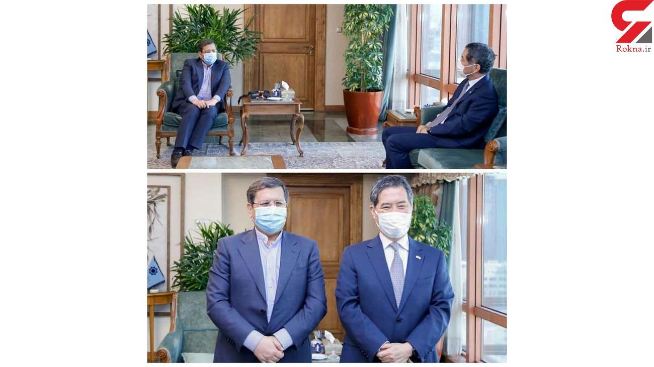 همتی: ژاپن بدهی اش را با ارسال واکسن کرونا به ایران پرداخت کند