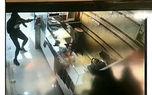 فیلم لحظه سرقت مسلحانه به طلافروشی بهارستان