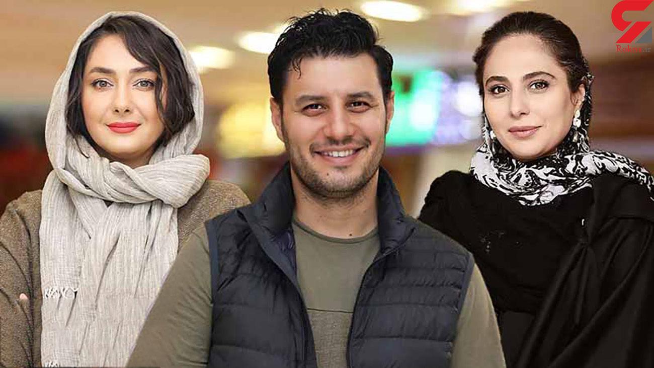 سوتی عجیب جواد عزتی در سریال زخم کاری لو رفت! + فیلم
