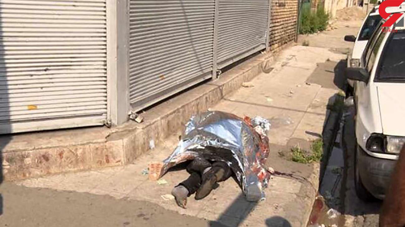 مرگ تلخ مرد 60 ساله در خیابان / در بوئین زهرا رخ داد