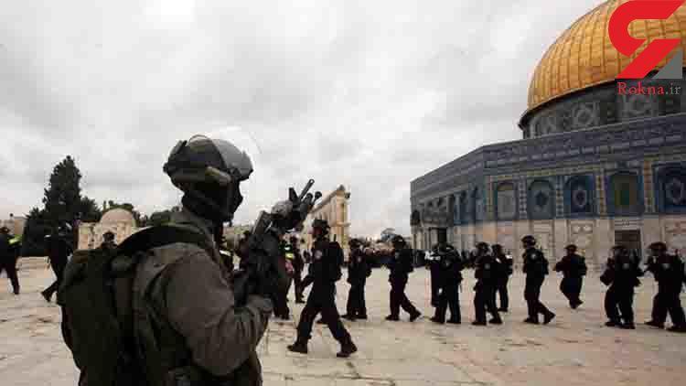 حمله نظامیان صهیونیست به مسجدالاقصی و سرکوب نمازگزاران
