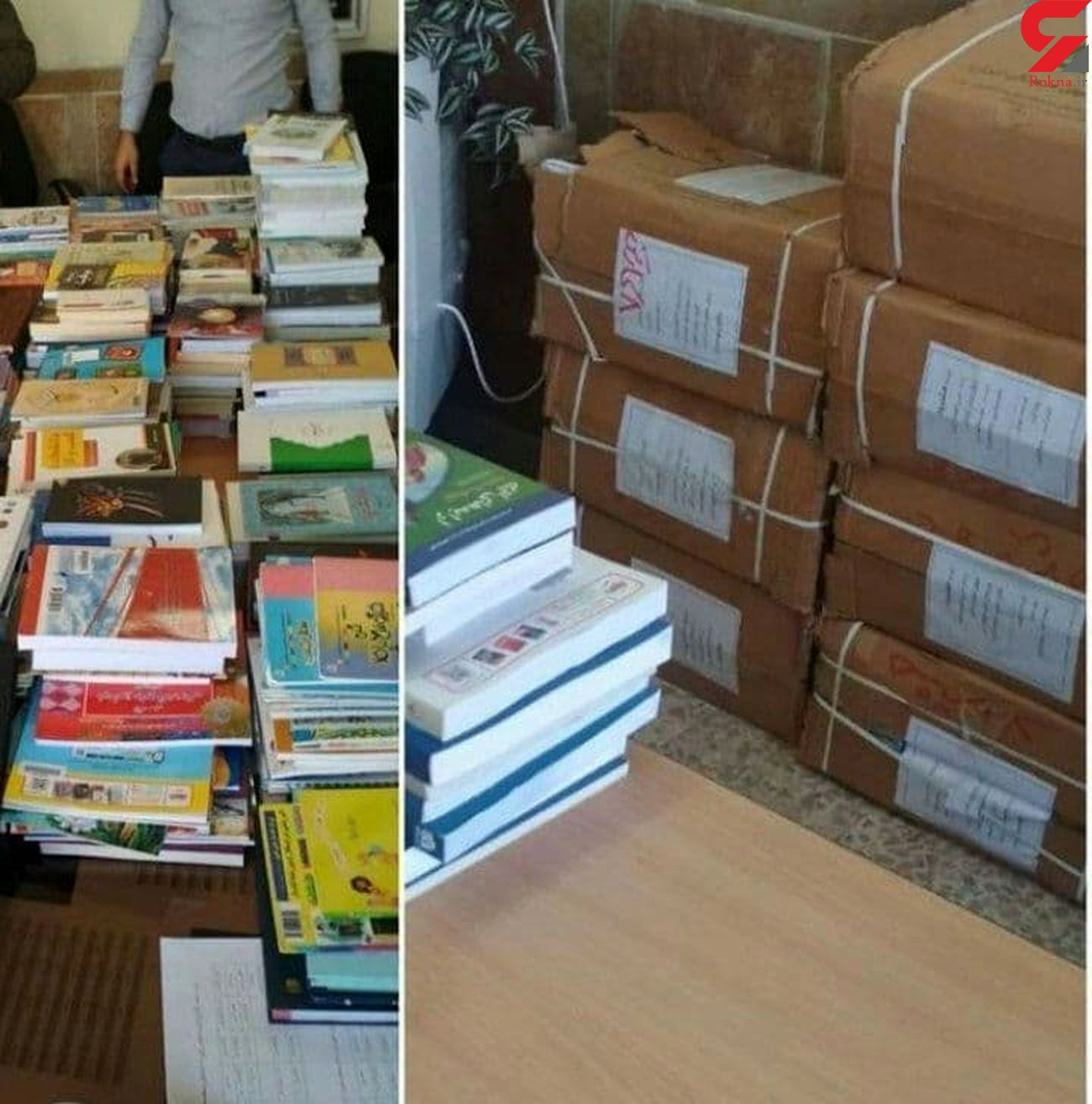 خانه کتاب ایران به مدارس هشترود کتاب هدیه کرد