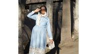 دوران بارداری متفاوت با مجموعه ای از شیک ترین لباس ها+عکس