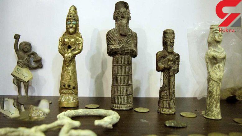 کشف ۱۰۲۶ قطعه اشیا تاریخی و بدل در فارس + عکس