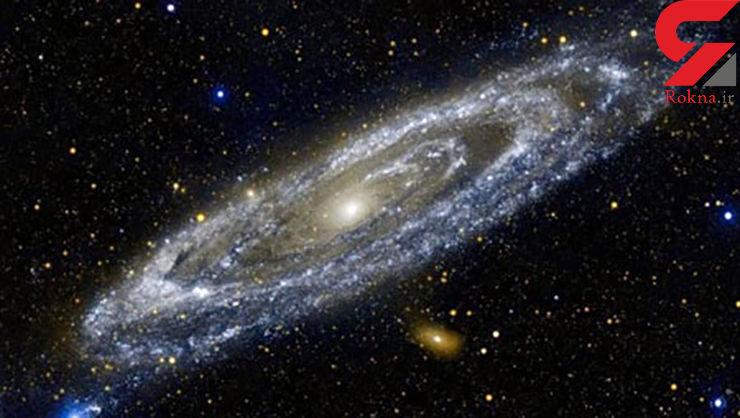 تجمع ستارههای داغ در کهکشان آندرومدا +عکس