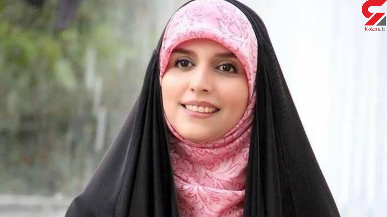 پیام خانم مجری تلویزیون برای فرزند شهید همت + عکس