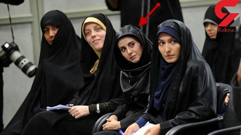 دختر خاص دیدار نخبگان با رهبری کی بود؟ +فیلم و عکس