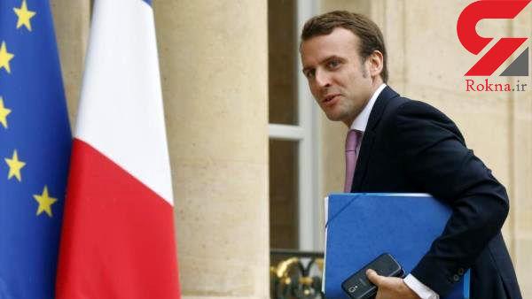 تبریک رئیس جمهور فرانسه به روحانی
