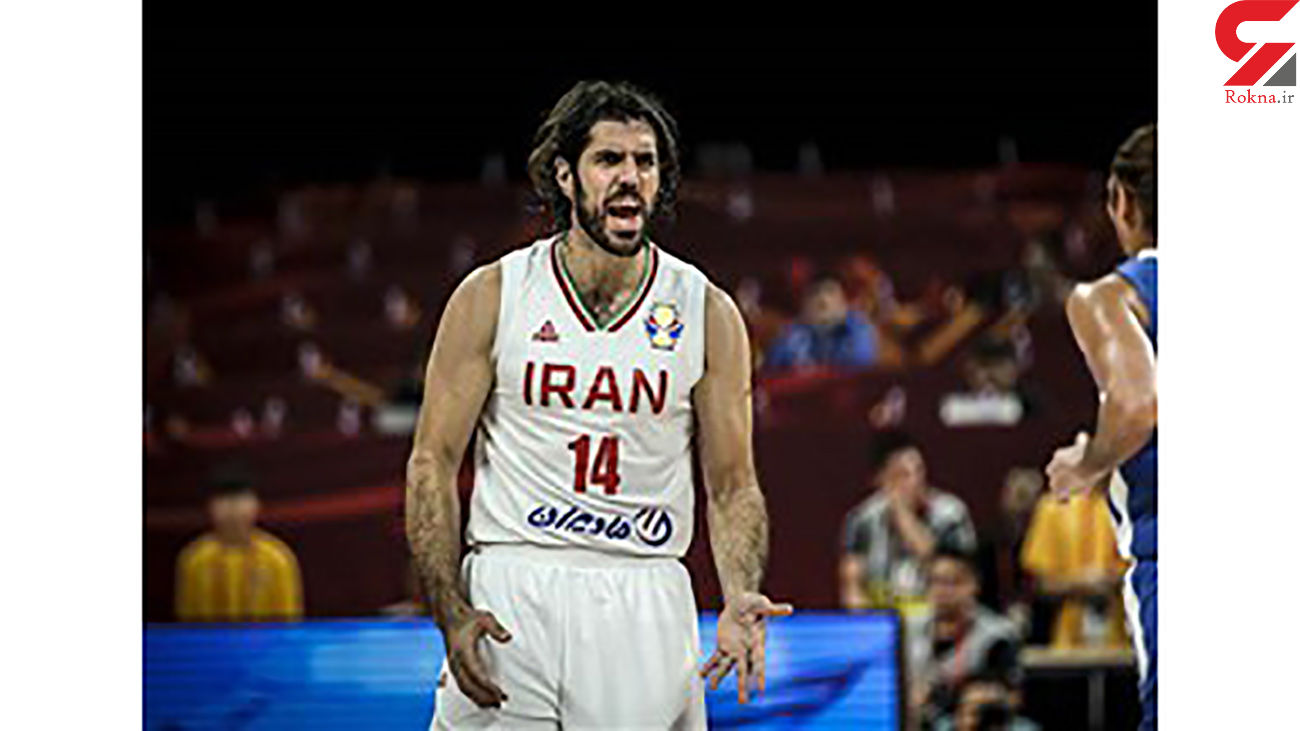صمد نیکخواه بهرامی کاپیتان تیم ملی بسکتبال کرونایی شد