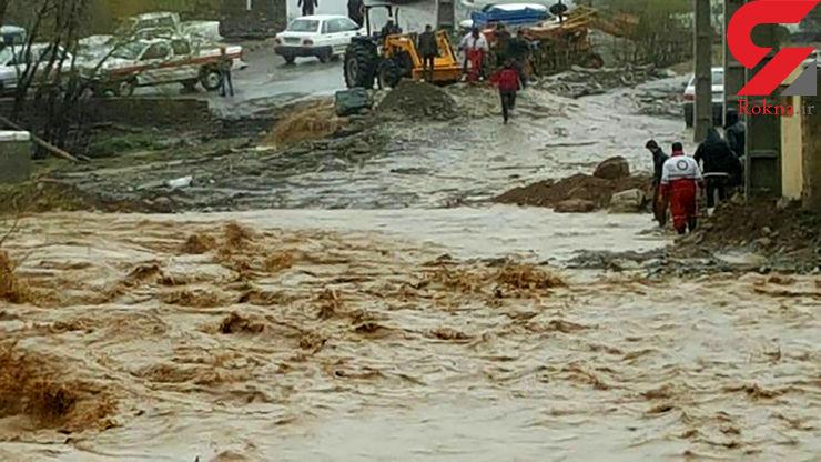 مرگ و مفقود شدن ۶ تن در سیلابهای اخیر