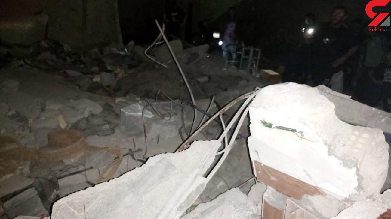 انفجار مرگبار در آبادان /   یک کشته و 4 مصدوم