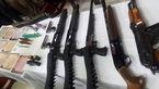 انهدام باند قاچاق 4 نفره سلاح جنگی در دهلران