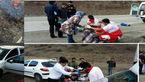 اسیدپاشی بر صورت یک زن جوان در تصادف ساختگی آزادشهر+ عکس